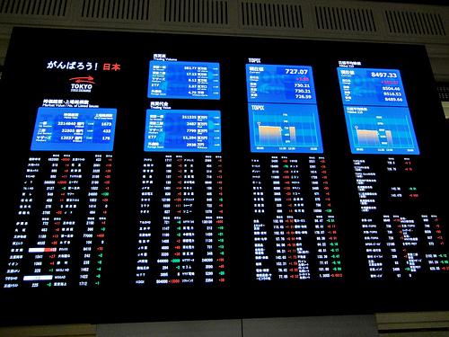 photo credit: Tokyo Stock Exchange via photopin (license)