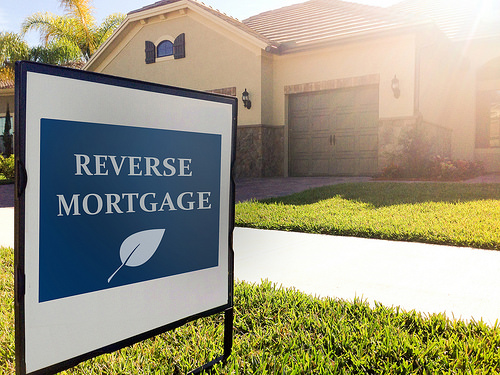 photo credit: House Sign - Reverse Mortgage via photopin (license)