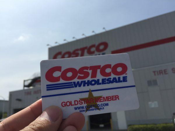コストコお店とカード