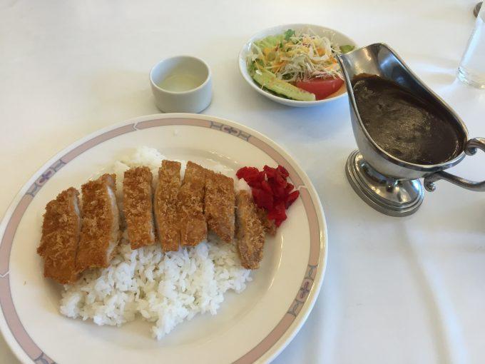 国会 食堂カレー