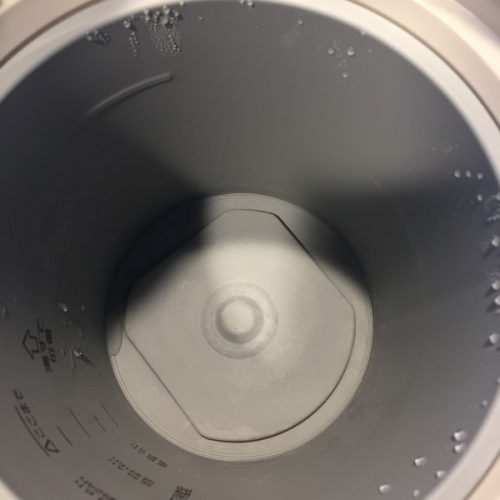 象印加湿器 クエン酸洗浄後