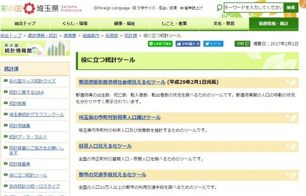 統計 埼玉県