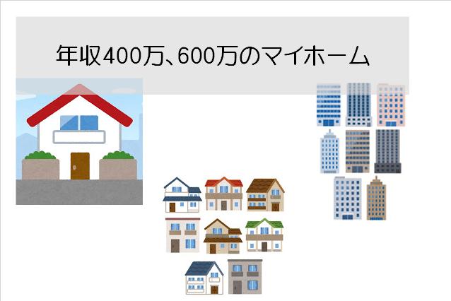 年収400万、600万マイホーム-min