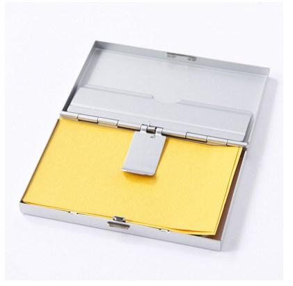 無印良品 カードケース アルミ