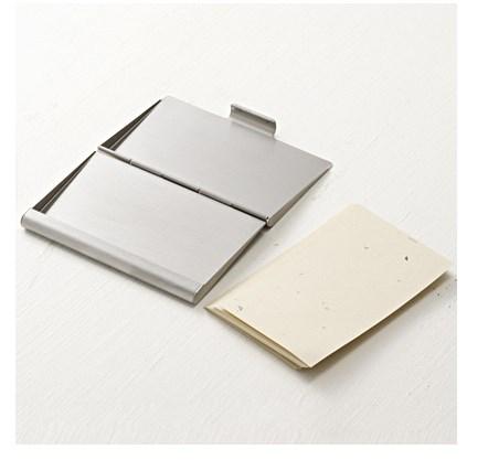 無印良品 カードケース ステンレス2