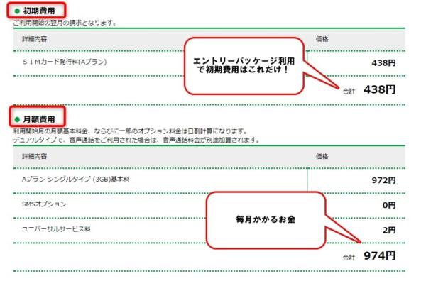 マイネオ48 タブレット 申込方法3 料金 au iPad mini 4 mineo