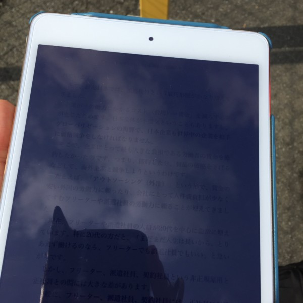 iPad mini 4 kindle-min
