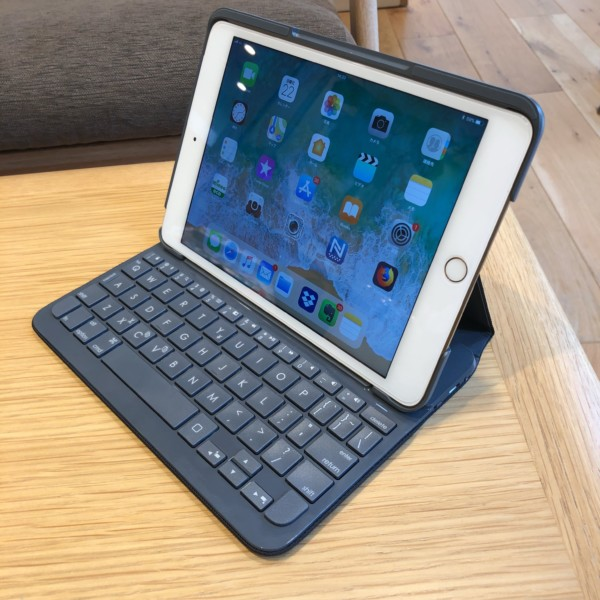 iPad mini 4 ロジクール キーボード付き