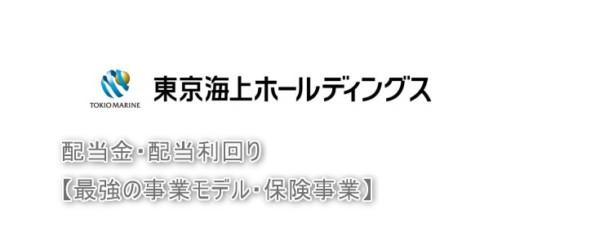 東京海上HD 保険事業 投資