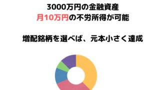 金融資産3000万円