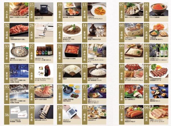 オリックス2019年株主優待Aコース-1