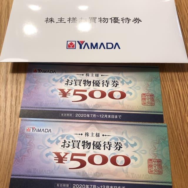 9831ヤマダ電機株主優待2020