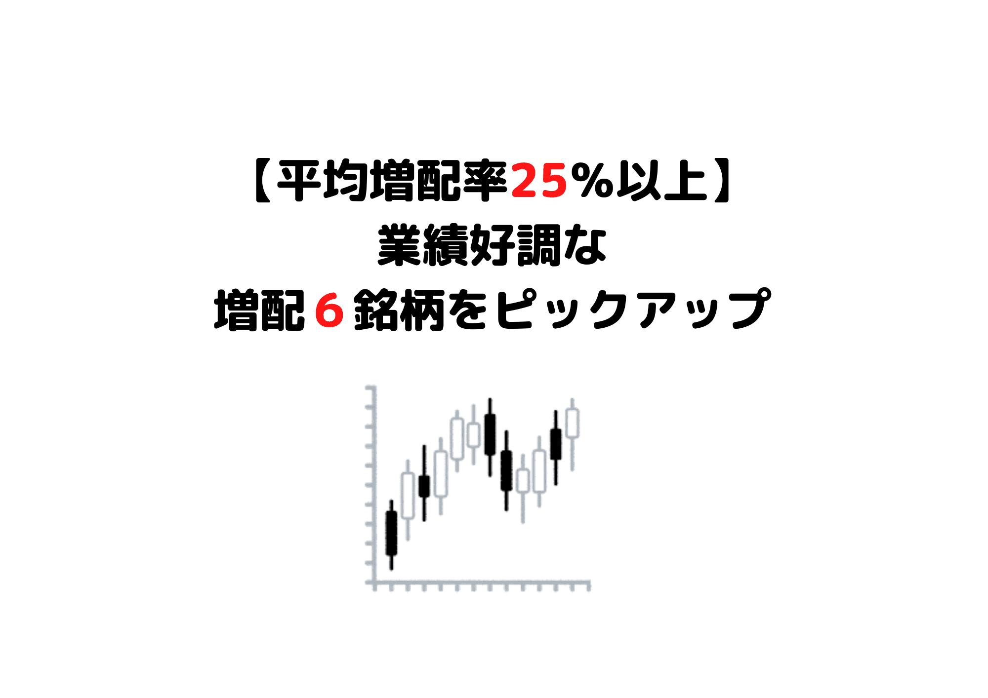増配率ランキング (1)