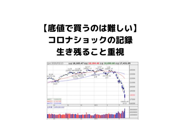 コロナショック3.13 (1)