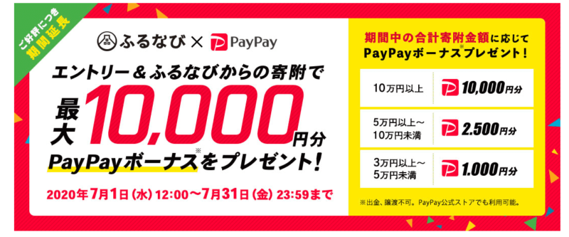 ふるなび PayPay
