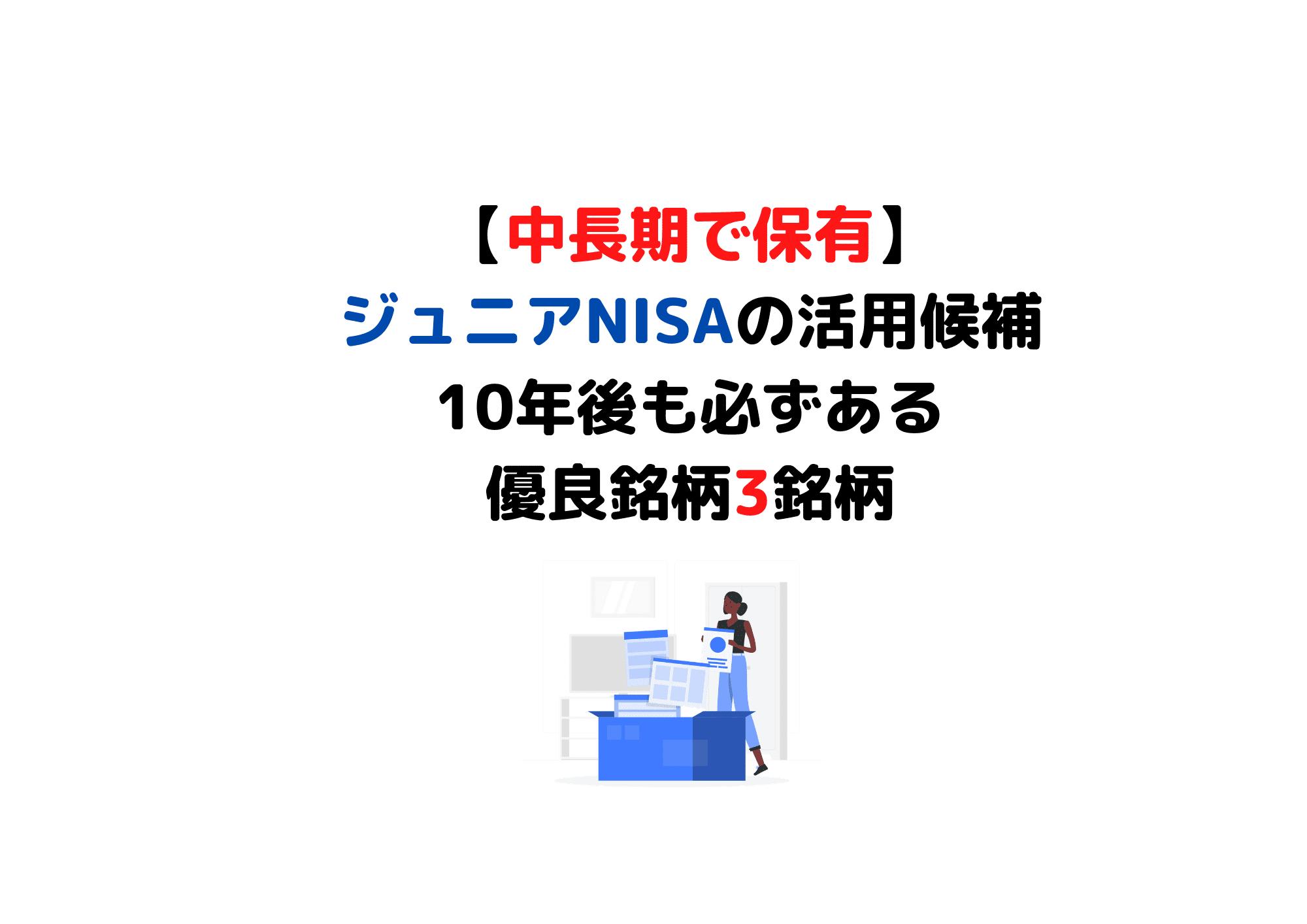 中長期で保有 ジュニアNISA (1)