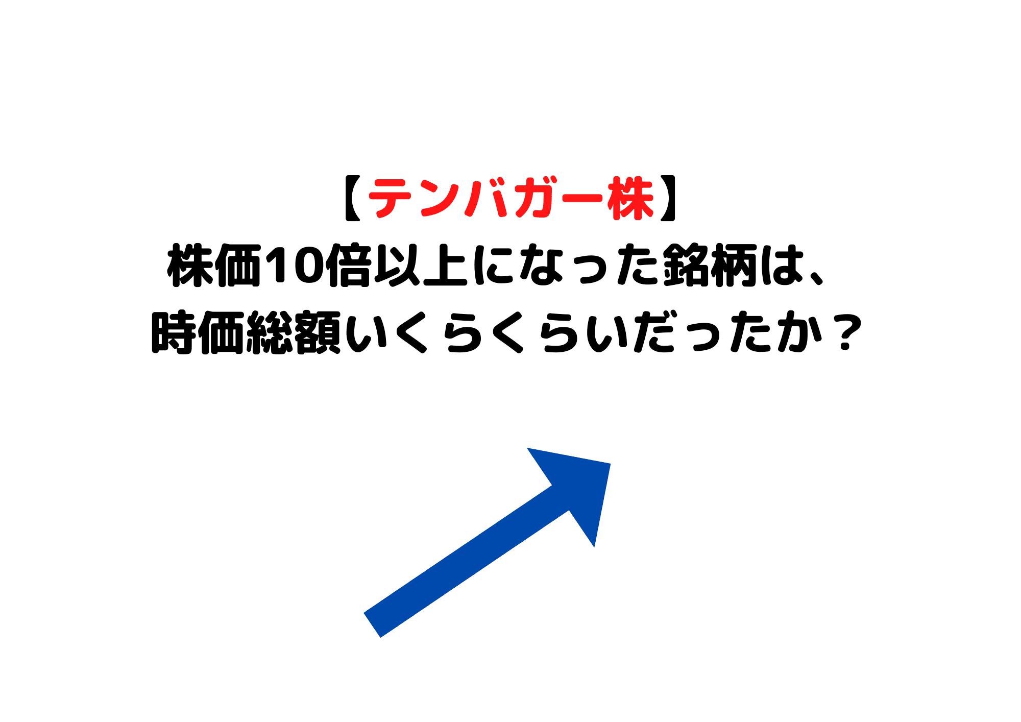 テンバガー株