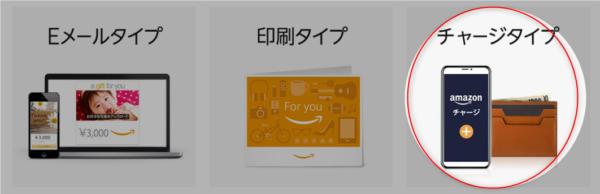 Amazonギフト VISA①